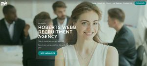 March 2019. Roberts Webb Recruitment has been launched!
